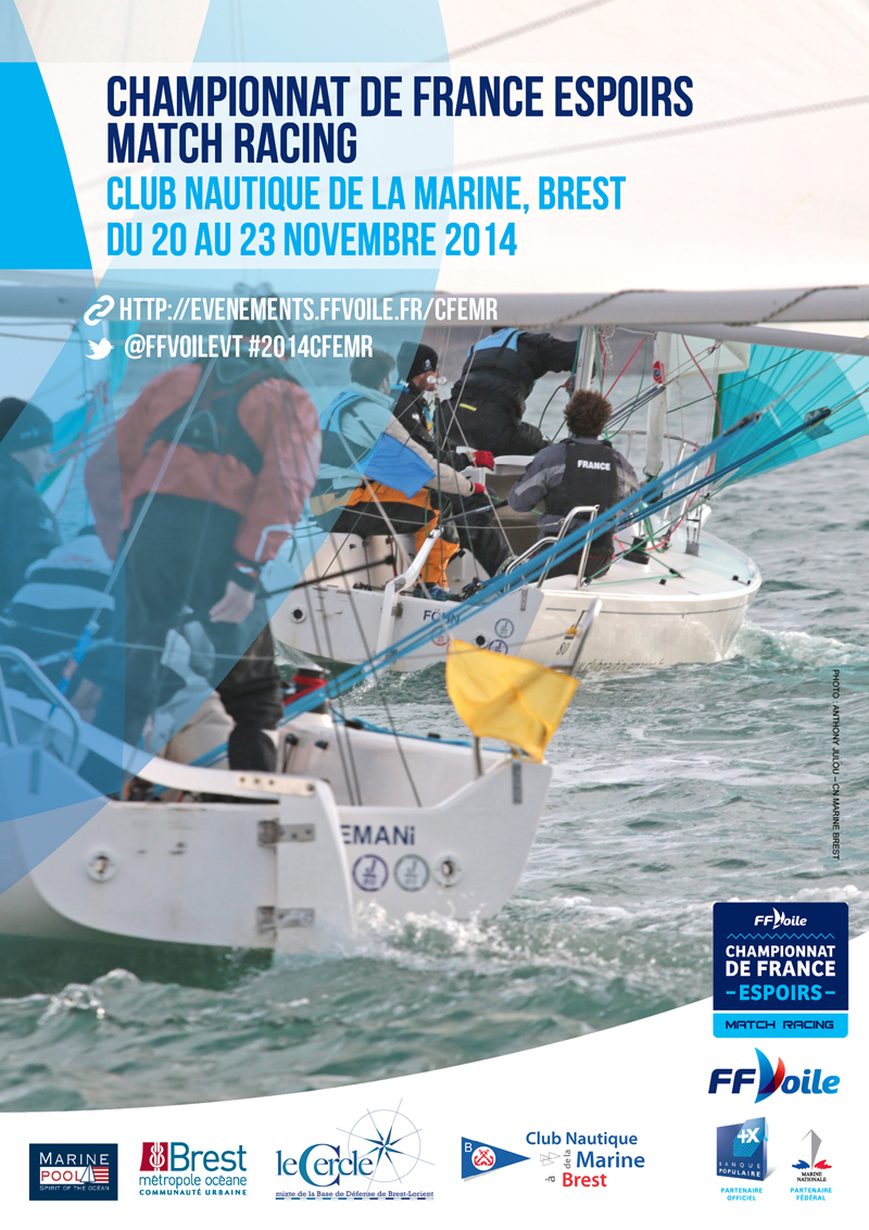 Championnat de France Espoir de Match Racing 2014